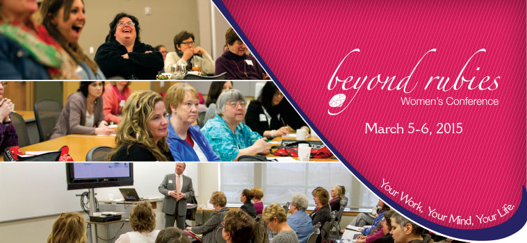 Register for the 2015 Beyond Rubies Women's Conference!