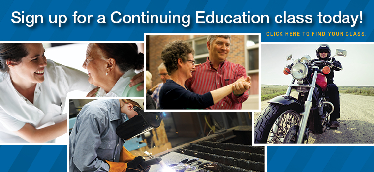 Sign up for a Continuing Education class today!