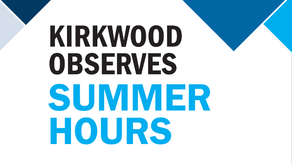 2019 Kirkwood Summer Hours