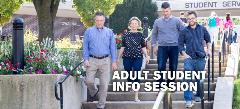 Adult Student Info Session