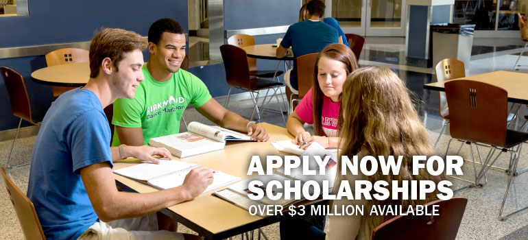 Apply now for scholarships, over $3 million available.