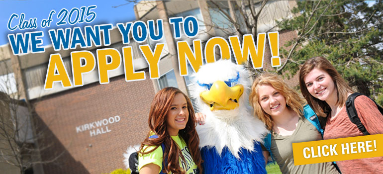 Class of 2015, we want you to apply now!