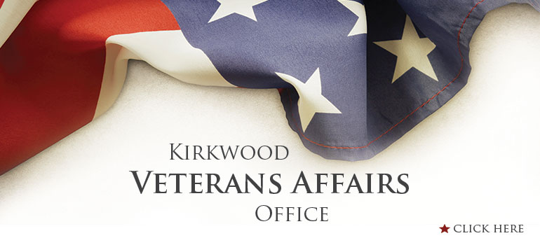 Kirkwood Veterans Affairs Office. Click here.