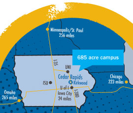 Kirkwood Community College Campus Map.Kirkwood Community College Start Here Go Anywhere