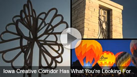 Iowa Creative Corridor has what you're looking for
