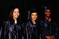 Grad 06 three students