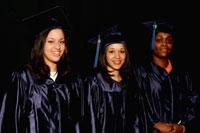 Grad 06 three students