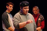 Laramie-characters on stage