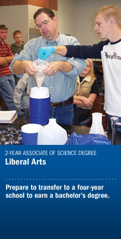 Liberal Arts - Agriculture Transfer
