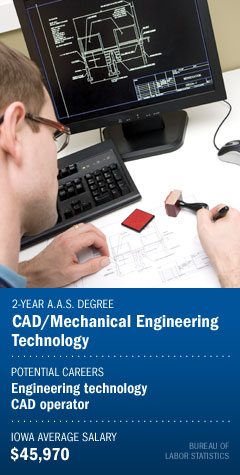 Program : CAD/Mechanical Engineering Technology