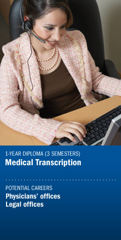 Program - Medical Transcription