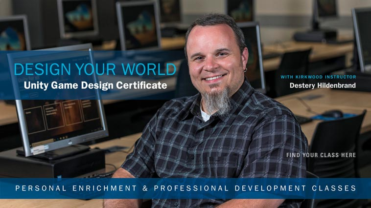 Design Your World! Unity Game Design Certificate