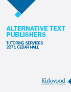Alternative Text Publishers
