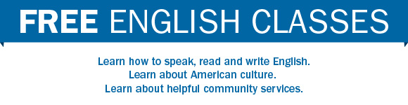 FREE English Classes.