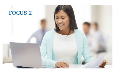 FOCUS 2 Workshop. Get introduced to FOCUS 2 with online assessments for major and career exploration and get guidance from Career Services staff.