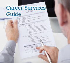 Click for our Career Services Guide PDF.