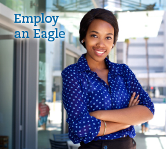 Click to job search or employ an eagle.