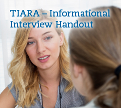 Click for a Informational Interviewing PDF.