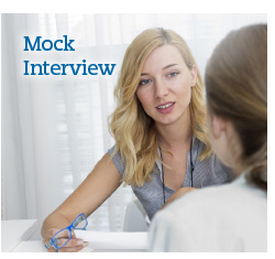 Mock interviewing workshop
