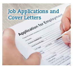 Job application and correspondence workshop