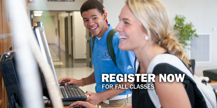 Register for Fall Classes