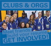 Clubs & Orgs - Get Involved!