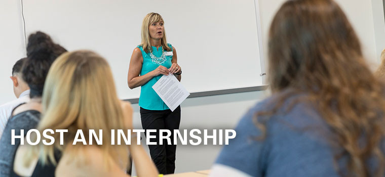 Host An Internship