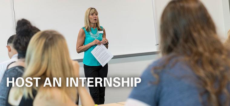Host An Internship