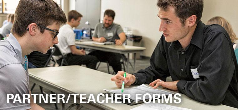 Partner/Teacher Forms