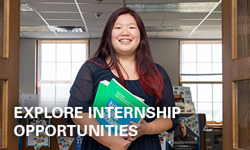 Explore internship opportunities