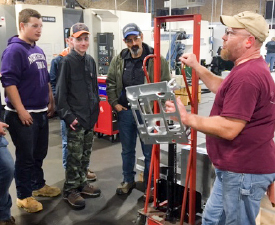 October's Advancing the Future Tours hosted over 1,000 student experiences bringing middle & high school students out of the classroom for career connecting learning with regional Advance Manufacturing partners.