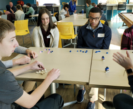 Image of students at the CIVCO Engineering Day.