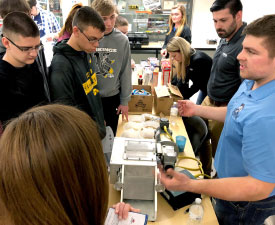 Food Science and Biotechnology Day Provides a Rare Glance at the Industry for High School Students and Educators