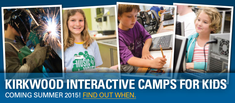 Kirkwood Interactive Camps for Kids. Coming Summer 2017, Find out when.