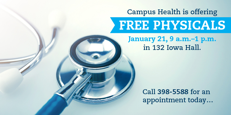 Call for a free physical