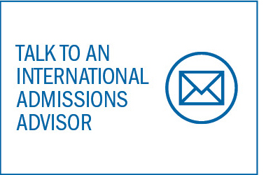 Email us to talk to an International Admissions Advisor