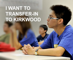 I want to transfer-in to Kirkwood