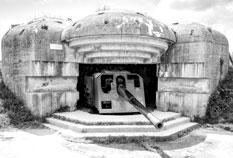 German defense battery