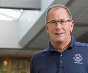 Doug Bannon, Dean of Admissions