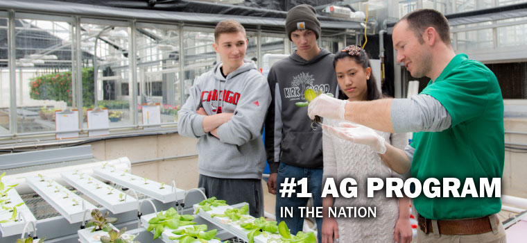 Number 1 Ag Program in the Nation