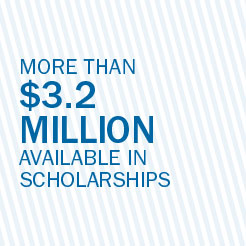 More than 3.2 million available in scholarships