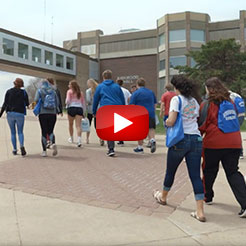 Play the campus visit video