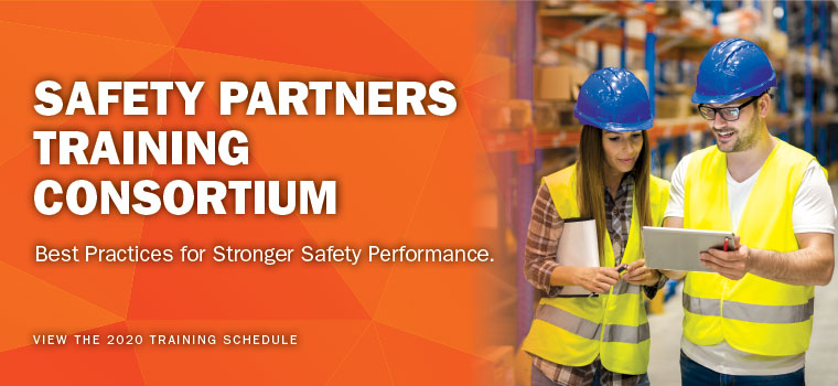 Safety Partners Training Consortium. Best practices for Stronger Safety Performance. View training schedule.