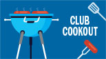 CLUB COOKOUT on Tuesday, September 10 @ 11:15 a.m.