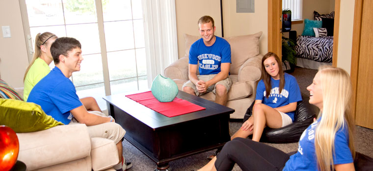 Students in apartment