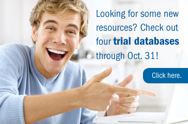 Trial databases available this month