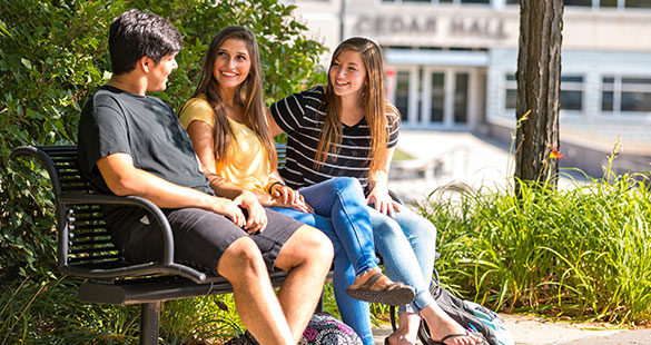 Students on Main Campus