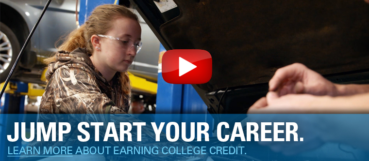 Jump Start Your Career. Learn more about earning college credit.