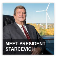 Meet President Starcevich