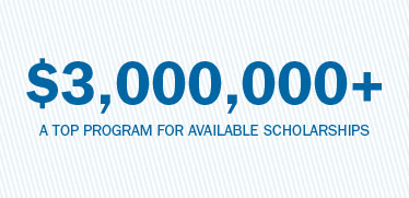 More than $3,000,000 a top program for available scholarships